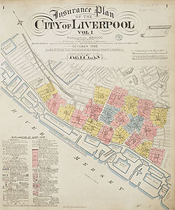 Insurance Plan of the City of Liverpool Vol. I: Key Plan on